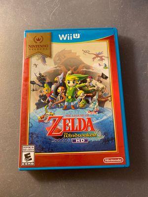 Zelda windwaker hd nintendo wii u for Sale in Orange, CA