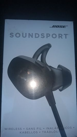 Bose soundsport wireless earbuds brand new for Sale in Minneapolis, MN
