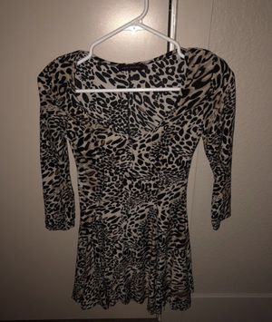 """WOMANS """"LOVE COUTURE"""" LEOPARD TUNIC/ DRESS for Sale in Denver, CO"""