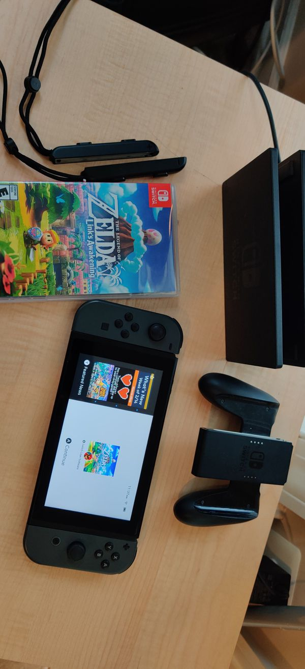 Switch with Zelda Link Awakening - All parts included