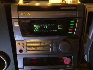 AIWA DIGITAL AUDIO SYSTEM CXNMT-70 5 Speakers and SUB-BUFFER!!! VERY RARE!!! for Sale in Henderson, NV