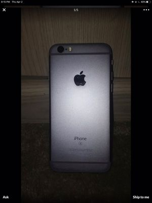 iPhone 6s just for parts I lost de code not blocked lets take good shape for Sale in Clermont, FL