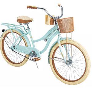 "Huffy 24"" Nel Lusso Girls' Cruiser Bike, Mint Green for Sale in Marietta, GA"