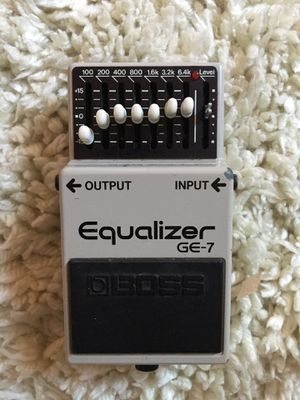 Boss GE-7 Equalizer - Made in Japan for Sale in San Diego, CA