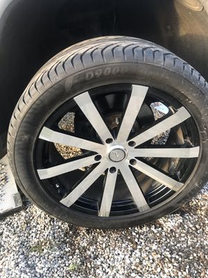 Velocity rims and tires for Sale in Oroville, CA