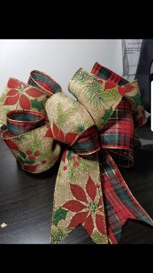 Moño navideño echo a mano hi quality for Sale in Pico Rivera, CA