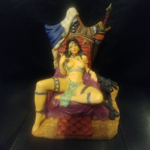Goth queen with black panther for Sale in Amherst, VA