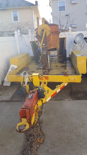 Heavy duty/skid-steer trailer for Sale in Franklin Square, NY
