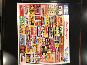 """White Mountain Puzzle """"Candy Wrappers"""" for Sale in Snohomish, WA"""