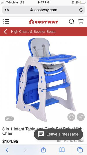 High chair. Table. Kids. Baby for Sale in Westminster, CA