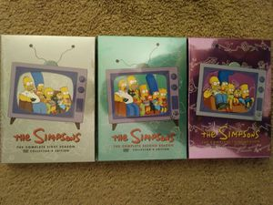 The Simpson's season 1-3 for Sale in Suffolk, VA