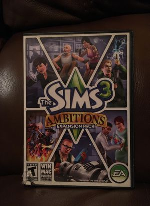 The Sims 3 Ambitions expansion pack for Sale in Ada, OK