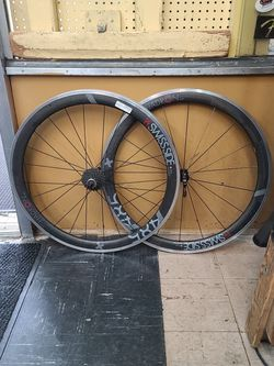 Carbon Fiber Bike Wheel Set Rims Swiss Side Hadron 485 for Sale in Washington,  DC