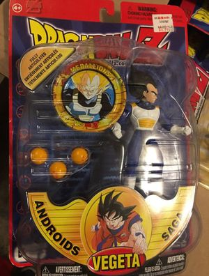 Vegeta Androids saga Dragon ball Z action figure with collectible coin for Sale in Oakley, CA