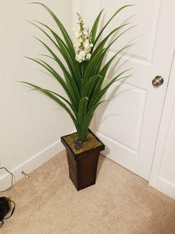 Decorative faux plant and planter for Sale in Centreville,  VA