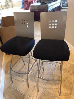 "2 swivel bar stools $180.00 (30"" high) for Sale in Phoenix, AZ"