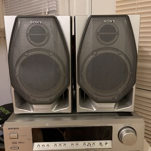 Sony Speakers And Onkyo Amp for Sale in San Francisco, CA