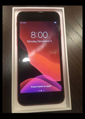 Unlocked iPhone 8 w/box - Product Red- Like new for Sale in Annandale, VA