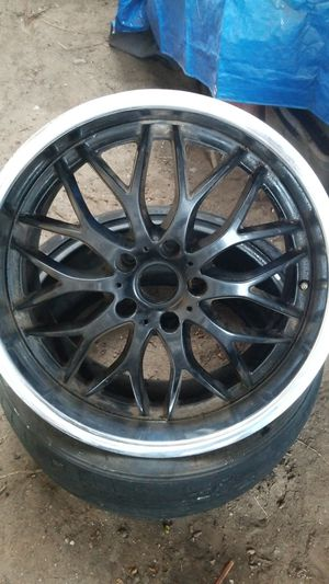 Selling size 19 rims and tires i have multiple for Sale in Santa Monica, CA