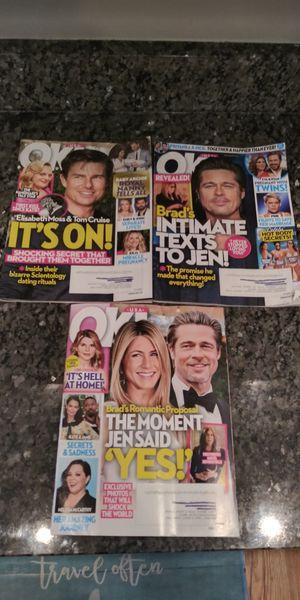 OK! Magazine Celebrity gossip set of 3 for Sale in Germantown, MD