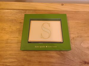 "Monogrammed ""S"" ID Holder Kate Spade for Sale in Fairfax, VA"
