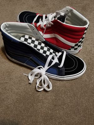 New vans skate sk8 bmx bike skateboard shoes size 10 for Sale in Inverness, IL