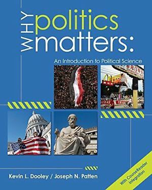 Why Politics Matters ISBN-978-1133309451, for Sale in Holliston, MA
