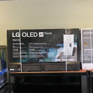 LG OLED CX 55 INCH AI THIN Q SMART 4K TV SALE GAMING TV ! TVS HDMI 2.1 for Sale in Burbank, CA