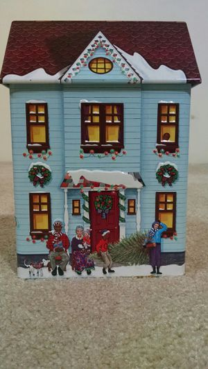 Christmas cookie storage container for Sale in Chesapeake, VA