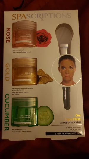 Spascriptions face mask set for Sale in North Las Vegas, NV