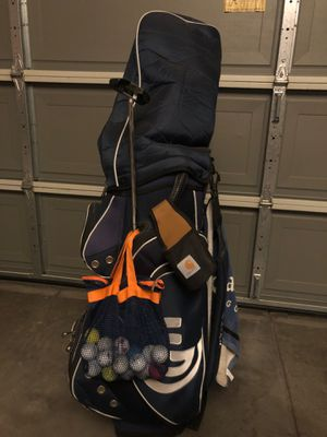 New Cleveland Golf bag & clubs included! for Sale in Riverside, CA