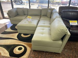 WE ARE OPEN! COMFY NEW MONACO SECTIONAL SOFA AND OTTOMAN SET ON SALE ONLY $899. SAME DAY DELIVERY! for Sale in Tampa, FL