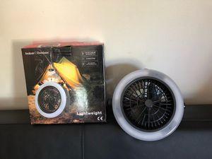 brand new 2 in 1 camping fan for Sale in South Burlington, VT