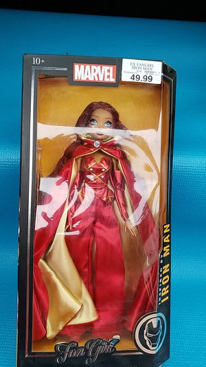 Marvel Fan Girl Madame Alexander Collection Iron Man Inspired for Sale in Sacramento, CA