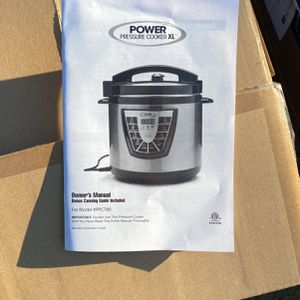 Power Pressure Cooker 8qt New In Box for Sale in Tacoma, WA