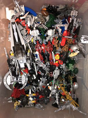 Massive Classic Lego Box with sets/Vintage Bionicles for Sale in Burke, VA