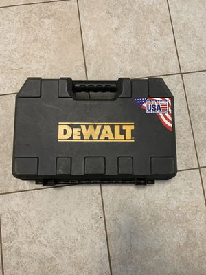 Dewalt drill tool case for Sale in Marietta, GA