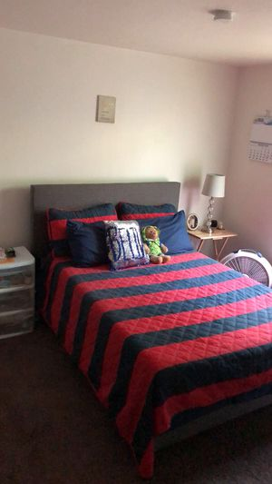 Full size Mattress, bed frame and headboard for Sale in Buffalo, NY