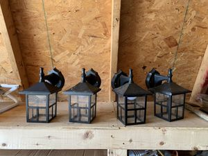 Outdoor , home , post lights led for Sale in Mentor, OH