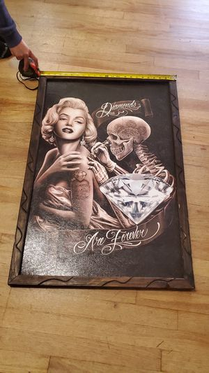 Marlin monroe frame for Sale in Stockton, CA