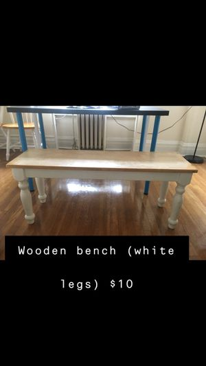 Cute wooden bench for Sale in Baltimore, MD