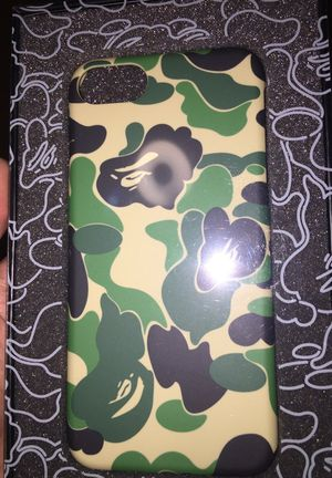 Bape ABC IPhone 7 case Green camo (Brand New still in package) for Sale in San Francisco, CA