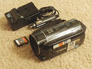 Canon VIXIA HF M52 Full HD 10x Image Stabilize Camcorder Wi-Fi Enabled + 32GB Internal + SDXC Slot for Sale in Kenmore, WA