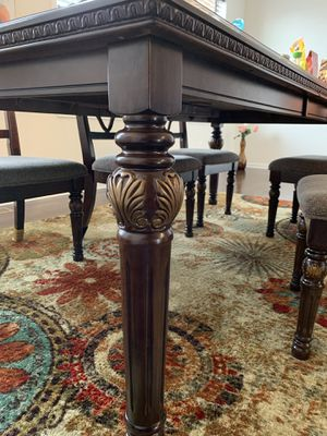 Solid wood dinning table sets with 8 chairs for Sale in Ashburn, VA
