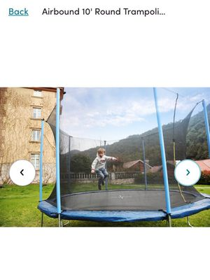 Airbound 10' Round Trampoline with Safety Enclosure - Brand New In Original Packaging for Sale in Buford, GA