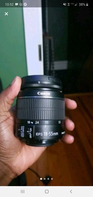 Canon 18-55mm lens 3.5 for Sale in Philadelphia, PA