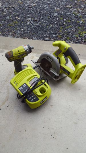 Ryobi 18-volt cordless saw and impact drill for Sale in Harrisburg, PA