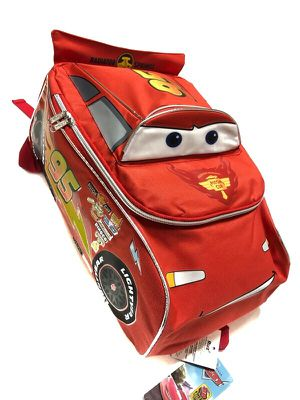 "Brand NEW! CARS ""Lightning McQueen"" Car Shaped Backpack For School/Traveling/Disneyland Trips/Birthday Gifts $22 for Sale in Carson, CA"