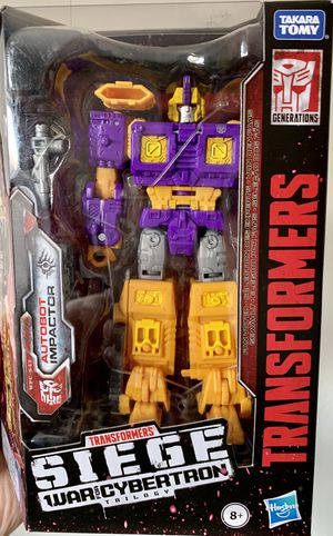 Transformers Siege War for Cybertron Impactor Deluxe Class Figure for Sale in Fresno, CA