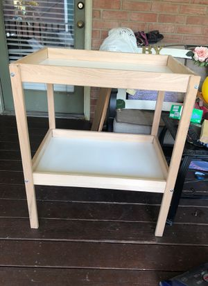 Baby changing table for Sale in DeSoto, TX